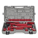 Best Choice Products SKY1311 10 Ton Porta Power Hydraulic Jack Body Frame Repair Kit (Auto Shop Tool Heavy)