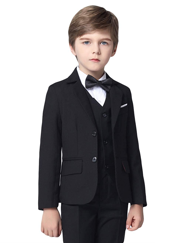 Amazon.com: Insun Boys Slim Fit Dress Suit Set Formal ...