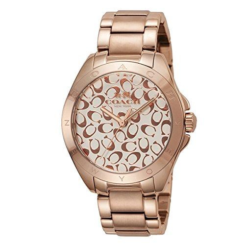 COACH Women's Tristen 36mm Bracelet Watch Chalk/Rose Gold One Size