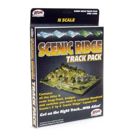 - N Code 80 Scenic Ridge Track Pack Atlas Trains