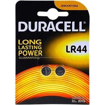 Duracell LR44 Pilas 2/Unidades 1,5 V Pila alcalina