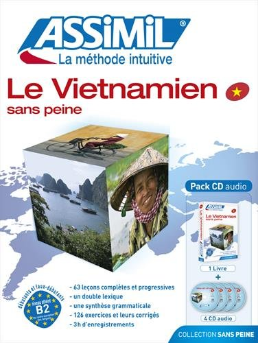 Assimil Le Vietnamien sans Peine - Vietnamese for French speakers ; Livre + CD Audio (x4) (Vietnamese Edition)