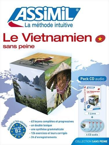 Assimil Le Vietnamien sans Peine - Vietnamese for French speakers ; Livre + CD Audio (x4) (Vietnamese Edition)