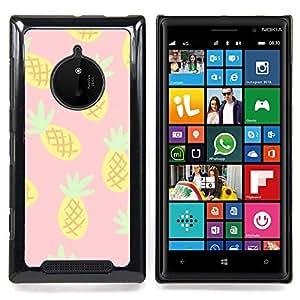 - pineapple drawing cannabis smoke 420 - - Modelo de la piel protectora de la cubierta del caso FOR Nokia Lumia 830 RetroCandy
