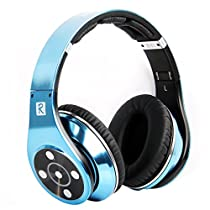 Bluedio R+ Legend Version - Cuffie Bluetooth Revolutionary 8 tracce, 8 altoparlanti, supporta NFC Aptx®, Bluetooth 4.0, Deep bass music effect