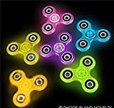 3'' GLOW IN THE DARK HAND SPINNER #TYHANG3, Case of 6