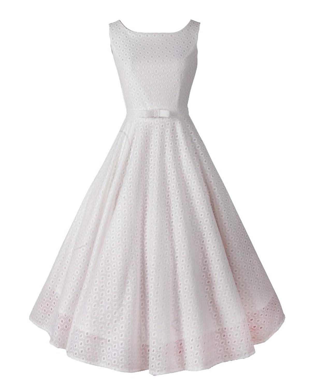 YipGrace Frauen Jahrgang 1950 Plus Größe Spitze Kleid kaufen