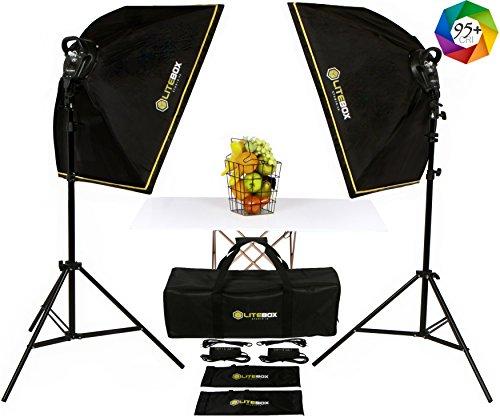Photo Maker Kit (LITEBOX | LED Softbox Lighting Kit for Photographers & Film Makers! - (NEW))