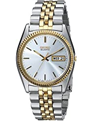 Seiko Mens SGF204 Stainless Steel Two-Tone Watch