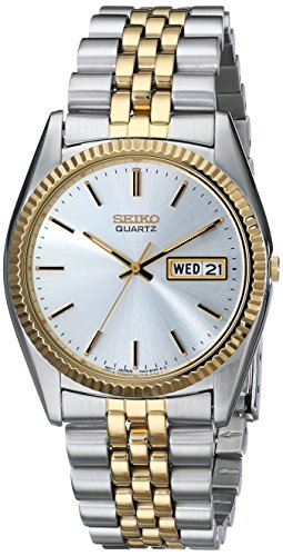 Date Swiss Automatic Watch - Seiko Men's SGF204 Stainless Steel Two-Tone Watch