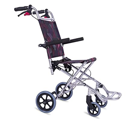Amazon.com: Banluo Aircraft silla de ruedas de aleación de ...