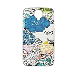 Okay life 3D Phone Case for Samsung Galaxy s4