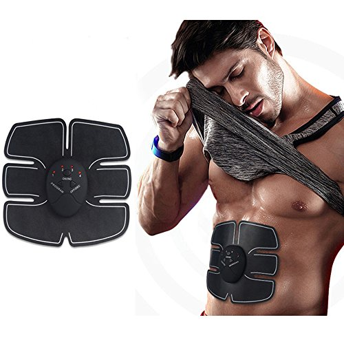Fitness Slimming Body Sculptor Muscle Trainer Butterfly ab Gymnic Belt Massager Pad Abdominal Muscle Exerciser Belts Fat Burner (Abdominal Pad + Host)