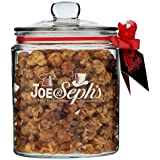 Joe & Seph's Double Salted Caramel Gourmet Popcorn Gift Jar, 300g
