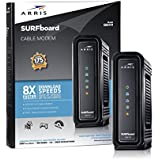 ARRIS SURFboard SB6141 8x4 DOCSIS 3.0 Cable Modem- Retail Package- Black