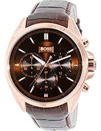 Hugo Boss Leather Mens Watch 1513036 Review