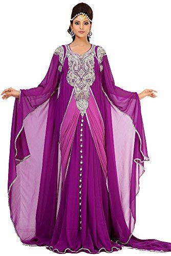 Palas Fashion Womens Designer Arabic Kaftan Dress Xxx -3445