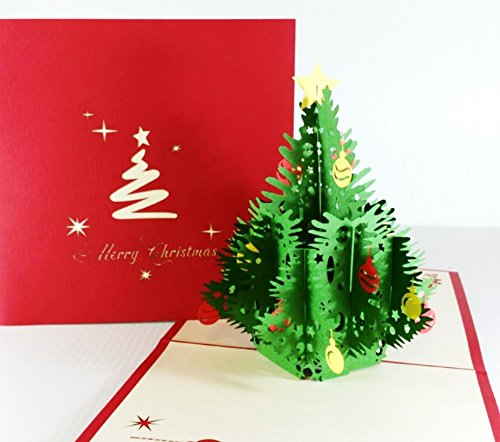 Handmade Pop-up 3d Christmas Card (Born Card)