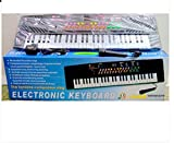 Karaoke Companion 54 Keys Electronic & Musical Keyboard Piano ,Black
