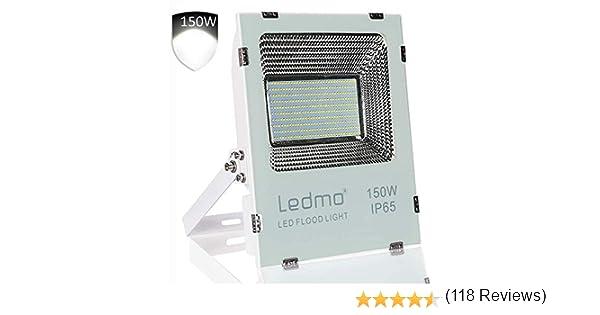 LEDMO Foco Proyector 150W Foco Led , 2835 14850LM Super brillante ...