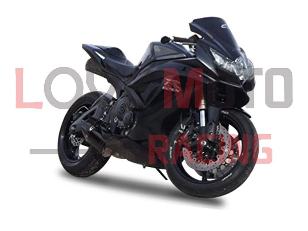 LoveMoto Carenature per GSX-R600 GSX-R750 K8 2008 2009 2010 08 09 10 GSXR 600 750 ABS stampo a iniezione kit set carenatura per moto Nero