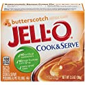 6-Pack Jell-O 3.5 oz Butterscotch Pudding & Pie Filling Mix