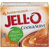 6-Pack Jell-O 3.5 oz Butterscotch Pudding & Pie Filling Mix