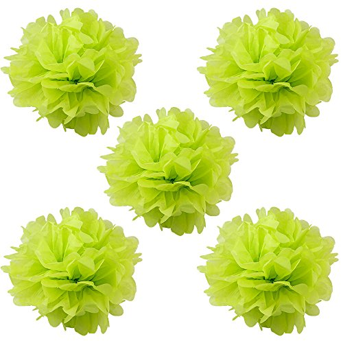 WYZworks Set of 5 - LIME GREEN 12