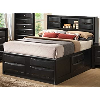 beds furniture frame cambridge n bed bedroom storage headboards ch home cherry depot drawer drawers the b queen with newport