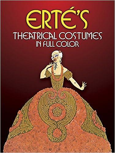 Ertes Theatrical Costumes In Full Color Erte 9780486238135 Amazon Books