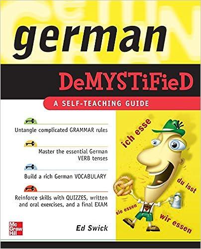 Lataa se ilmaiseksi German Demystified PDF iBook