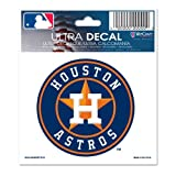 "WinCraft MLB Houston Astros Multi-Use Decal, 3"" x 4"""