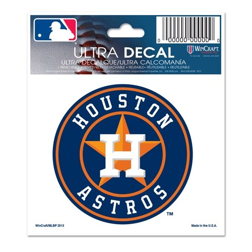 Houston Astros Stickers (MLB Houston Astros Multi-Use Decal, 3