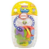 Nuby Icybite Keys Teether 3mth+ - Pack of 6