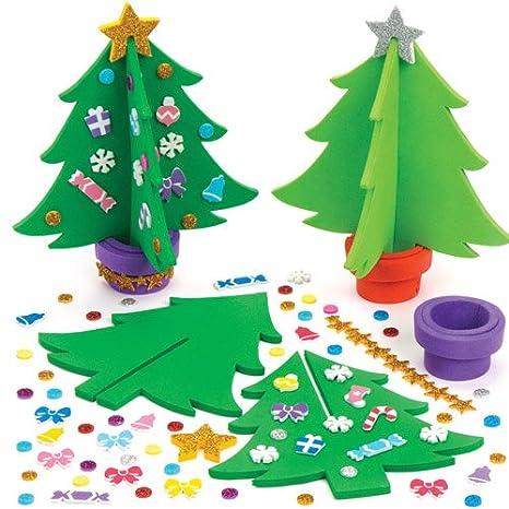 Albero Di Natale Fai Da Te Per Bambini.Kit Alberi Di Natale Per Bambini Da Creare Decorare E