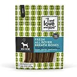 I and love and you Fresh All Rover Dental Bones Grain Free Dog Chews, 5 Small Dog Chews, 3.5 oz