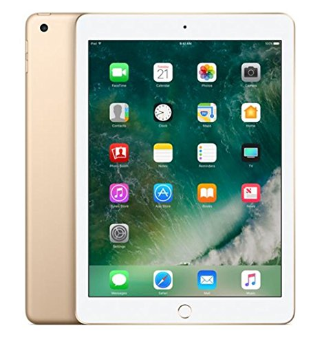 Apple iPad with WiFi, 32GB, Gold (2017 Model)