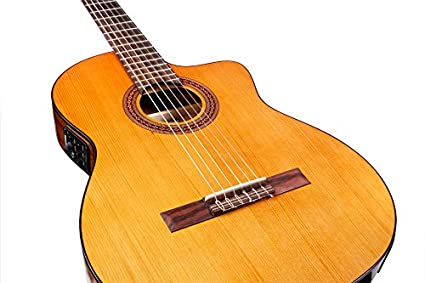 Thin Body Classical Electro Acoustic 7 Cm Depth Gitarren & Bässe Akustische Gitarren