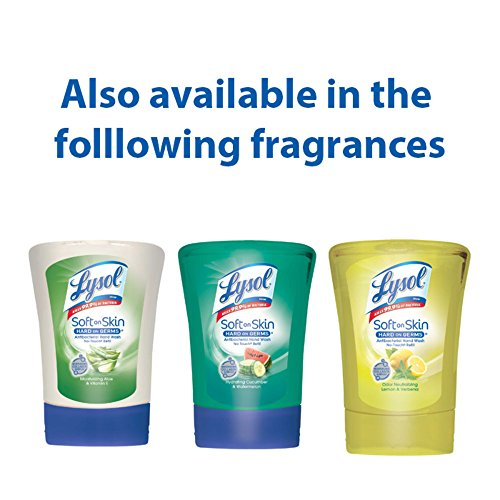 Lysol No-Touch Hand Soap Refill, Hydrating Cucumber & Watermelon, 8.5 oz ( Pack of 6) by Lysol (Image #4)