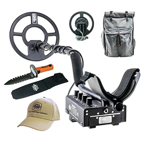 Whites TDI SL PI Relic Metal Detector GEARED UP Bundle by TDI SL PI