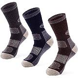 MERIWOOL 3 Pairs Merino Wool Blend Socks - Choose Your Size & Style