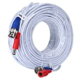 ANNKE 2-In-1 Video Power Cable 100 Feet (30 meters) Security Camera Cable with BNC Connectors for for Surveillance CCTV Camera System