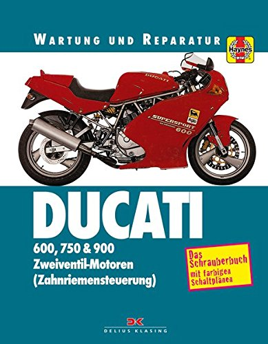 Ducati 600, 750 & 900: Wartung und Reparatur. Print on Demand