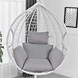 hanging egg hammock chair cushions, hanging basket swing chair lumbar back support cushion pillow,