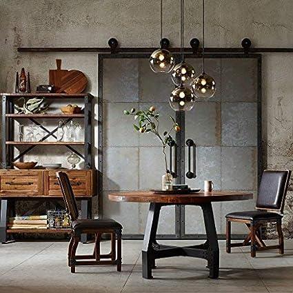 Amazoncom Inkivy Lancaster Round Dining Table Solid Wood