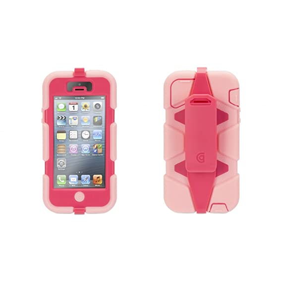 outlet store d1a78 6924c Griffin Survivor for iPhone 5/5s, hot pink/pink - Ridiculously  over-engineered? Or the perfect case no matter where you're headed?