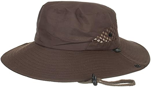 HYSGM Fashion Summer Outdoor Sun Bucket Hat for Men Women Mesh Hat Drying Fishing Cap