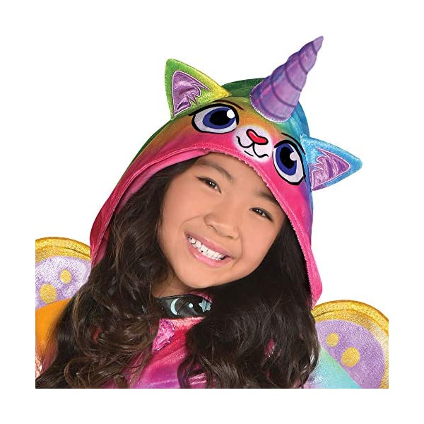 Suit Yourself Felicity Halloween Costume for Girls, Rainbow Kitty Unicorn, Includes Accessories 4