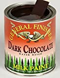 General Finishes Water Based Milk Paint Dark Chocolate Quart