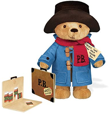Paddington Bear 10 Inches Traditional Soft Toy With Paperboard Suitcase by Yottoy